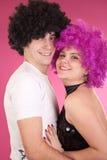 Danseurs de disco photographie stock libre de droits