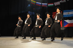 Danseurs de Malambo Image stock