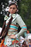 Danseurs de natif américain à prisonnier de guerre-wouah Images stock