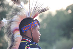 Danseurs de natif américain à prisonnier de guerre-wouah Photo libre de droits