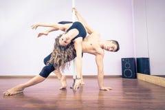 Danseurs de Polonais Photographie stock