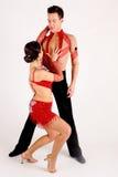 Danseurs de salle de bal Photo libre de droits