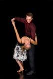 Danseurs de salle de bal Photographie stock libre de droits