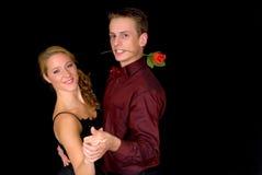Danseurs de salle de bal Image stock