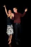 Danseurs de salle de bal Photos stock
