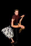 Danseurs de salle de bal Photos libres de droits