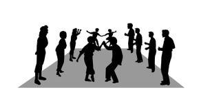 Danseurs de balade Image libre de droits