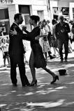 Danseurs 139 de tango Photos libres de droits