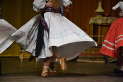 Danseurs de tradition Photo stock