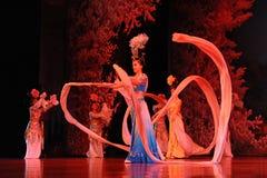 Danseurs des troupes de danse de Xian Photos libres de droits