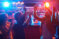Danseurs enthousiastes Photo libre de droits