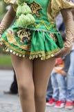 Danseurs exécutant pour l'ouverture de carnaval de Salta, Argentine Photos stock