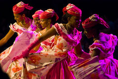 danseurs exotiques Photos libres de droits