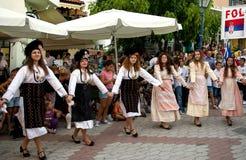 Danseurs féminins Images stock