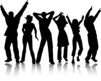 Danseurs géniaux illustration libre de droits