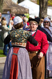 Danseurs hollandais Image stock