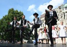 Danseurs hongrois photos libres de droits