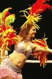 Danseurs latins à l'ouverture de parc olympique Images stock