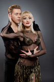 Danseurs latins Images stock