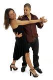 danseurs latins Photos stock