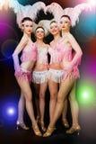 Danseurs latins de bille images stock