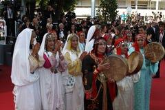 Danseurs le Maghreb Photos libres de droits