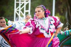 Danseurs mexicains Image libre de droits