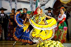 Danseurs mexicains photo libre de droits