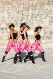 Danseurs modernes Photos libres de droits