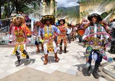 Danseurs péruviens photos stock