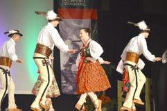 Danseurs polonais images stock