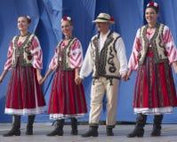 Danseurs roumains photos libres de droits