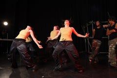 Danseurs sur l'étape Photographie stock