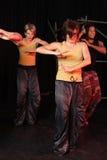 Danseurs sur l'étape Image stock