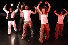 Danseurs sur l'étape Photos stock