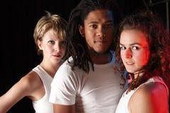 Danseurs sur l'étape Photo stock
