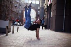 Danseurs sur la rue photo libre de droits