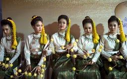 Danseurs thaïs photo stock