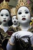 Danseurs thaïs photographie stock