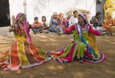 Danseurs tribals Photo stock