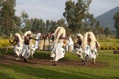 Danseurs tribals de Sacola Images libres de droits