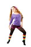Danseuse de femme photographie stock