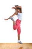 Danseuse moderne de femme Photo libre de droits