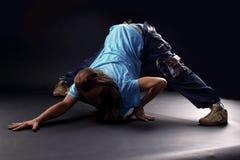 Danseuse moderne de femme fraîche images stock