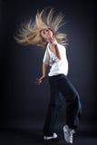 Danseuse moderne de jeune femme photos libres de droits
