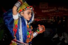 Dansfestival, Navratri Royalty-vrije Stock Afbeelding