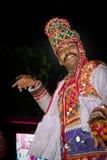 Dansfestival, Navratri Royalty-vrije Stock Afbeeldingen