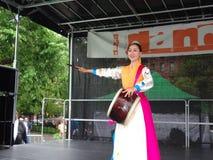 Dansfestivalen 5 för 2013 dans Royaltyfri Fotografi