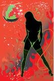 Dansgirl Royalty-vrije Stock Afbeelding