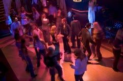 dansgolvfrenesi Fotografering för Bildbyråer